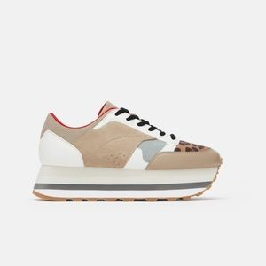 Platform Zara Tennis shoes